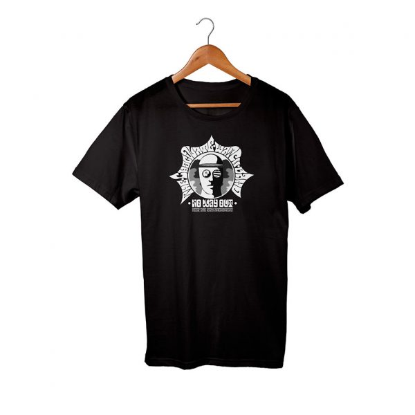 Chocolate Watchband No Way Out Psychedelic Black T-Shirt
