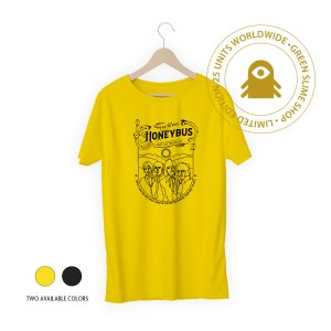 Honeybus Black/Yellow T-Shirt for men and women