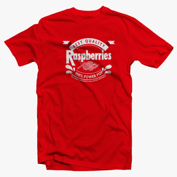 Raspberries Power Pop TShirt