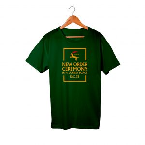 New Order Ceremony Dark Green Men Women T-Shirt