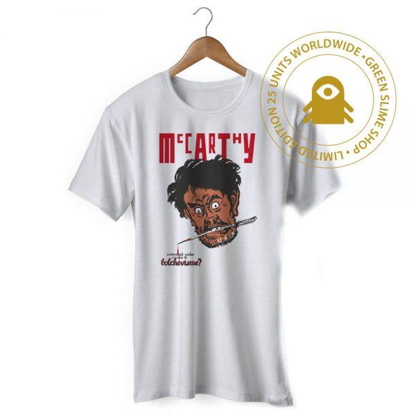 McCarthy Stereolab white tshirt